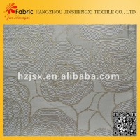 Hangzhou bedding supplies polyester blending sample of upholstery fabrics