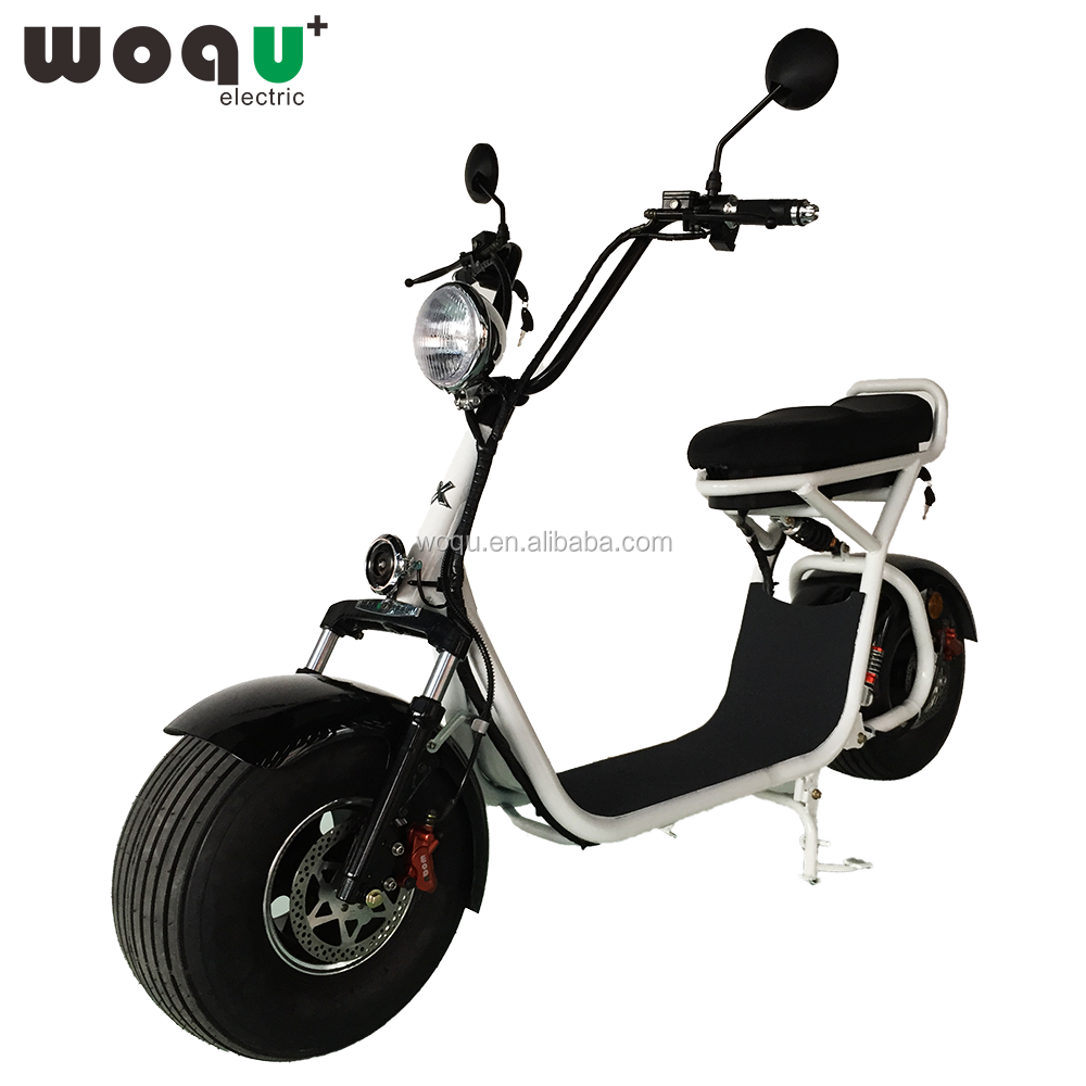 2016 most fashionable citycoco 2 wheel electric scooter, adult electric motorcycle