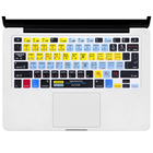 Function Hotkey Shortcut keyboard cover Silicone skin for Macbook Pro Air Retina 13 15 17