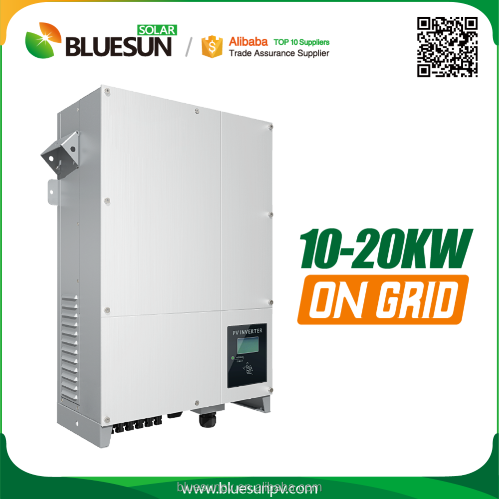 China best manufacturer 10 kw inverter for on-grid solar system with 3phase AC output