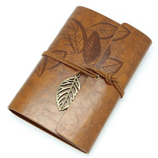 Wenzhou Factory Antique Handmade leather journal writing notebook