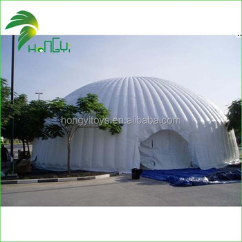 inflatable dome building/large inflatable igloo tent for party