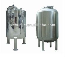 CHKE Made in China durable and competitive price water tank for water treatment plant/used chemical mixing tanks/sterile tank