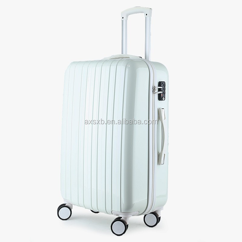 abs polycarbonate hand trolley royal king luggage case