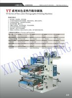 Two Colour flexography printing machine,two color flexo flexible printing machine