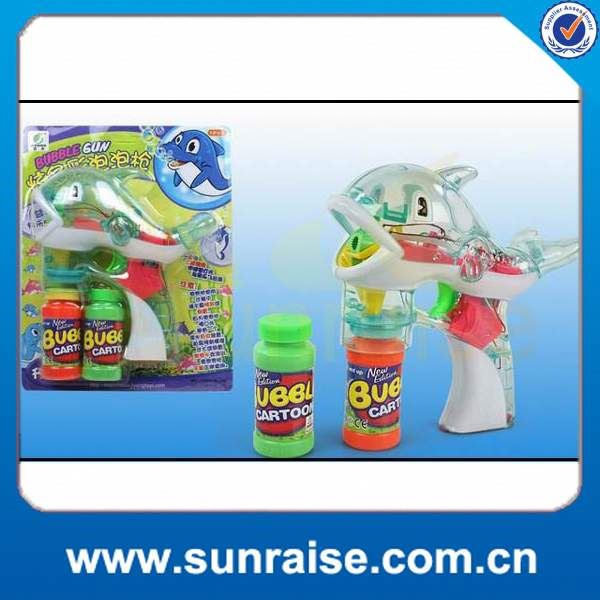 plastic bubble shooter gun toy