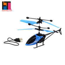 new arrivals kids flying plane model plastic helicopter toys for infrared induction