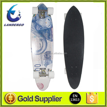 China Adults Toys 2017 New Style Canadian Maplewood Downhill Longboard Skateboard