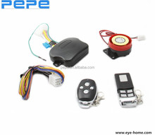 PEPE Anti-theft Code Learning Motorcycle Alarm System