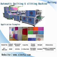 Automatic quilting embossing machine
