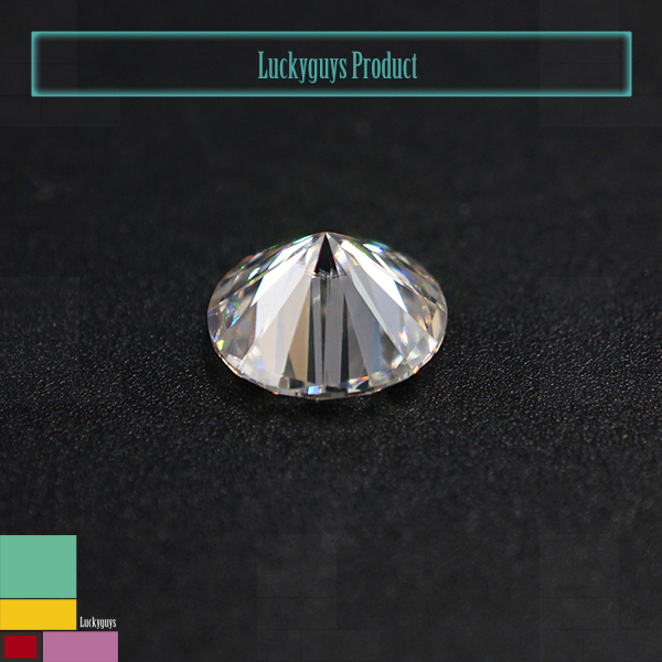China Synthetic Gemstones Moissanite 1 carat Fashionable Jewelry for TransGems