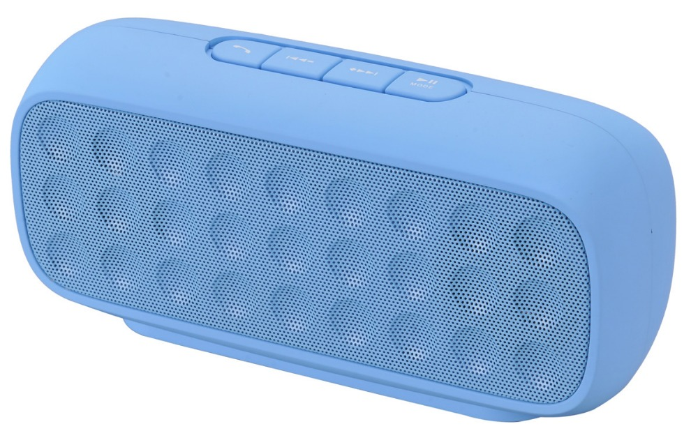 Mini LED colorful rechargeable wireless rectangle bluetooth speaker