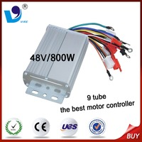 9 tube 48V/800W the best brushless DC motor controller for 3 wheel electric bicycle