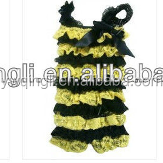 Wholesale Cheap Colorful Baby Cute Lace Ruffle Rompers