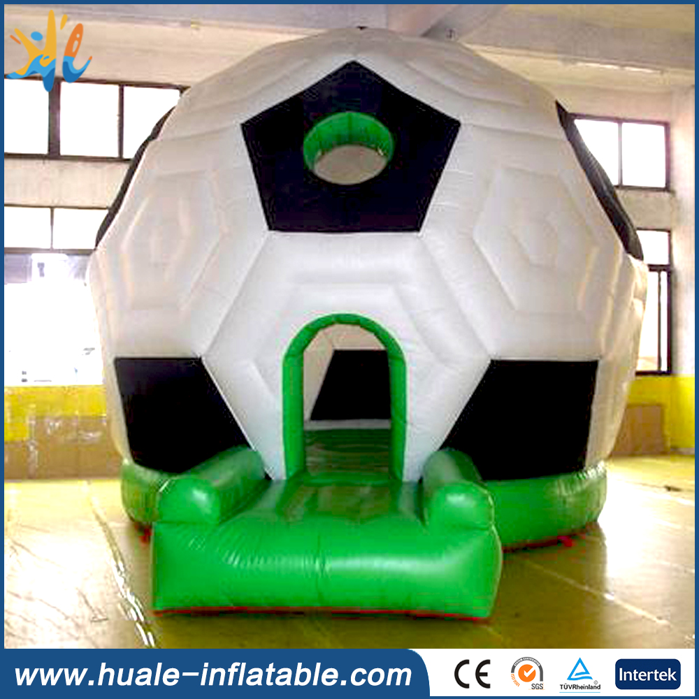 Inflatable football bouncer, inflatable soccer bounce house,inflatable soccer bounce castle for sale