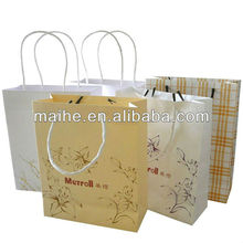 classy paper bag,gift packing paper bags,paper bags with velcro closure