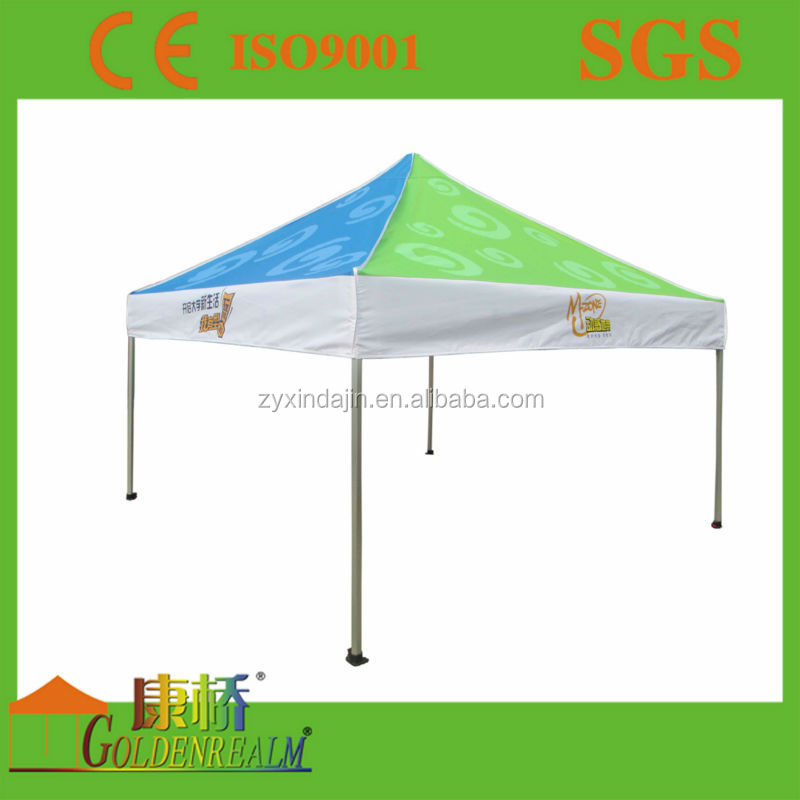 Advertising printed folding tent with aluminum pole