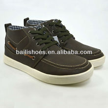 New modern men casual shoes,fashion flat design for young man