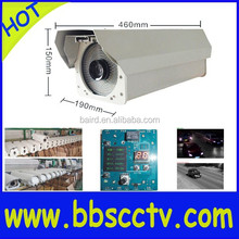 high end 700TVL SONY CCD Road Surveillance best trail camera for license plate 180km/h