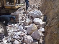 Ore Barite for Drilling Oil