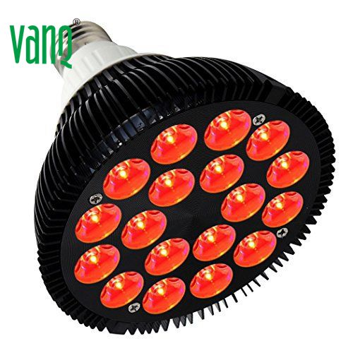 VANQ E27 par red therapy light Epileds 633nm collagen lamp for rejuvenation for home user cosmetics whitening