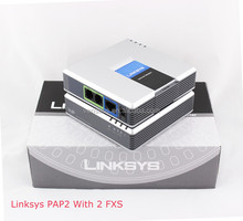 Best price Original Charger Linksys Phone Adapter PAP2T Voip Internet Gateway PAP2T NA