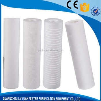 RO spun filter for PP polypropylene cartridge
