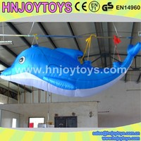 LED inflatable dolphin for advertising and party, LED Inflatable cartoon