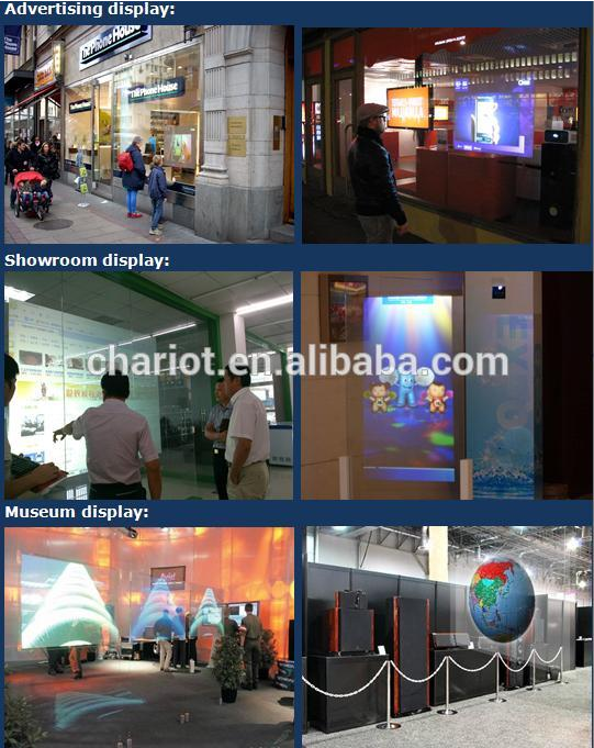 Easy to use clear transparent/grey/ dark grey rear projection film