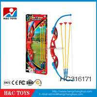 Indoor sport game kids plastic bow and arrow toys HC316171