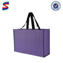 Pp Non Woven Lamination Shopping Bag Yellow Non Woven Bag