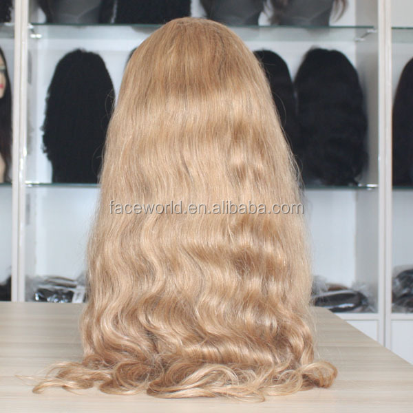 asian style wig 613 blonde body wave machine made wig 26 inch