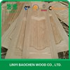 Laminated natural wood veneer door skin
