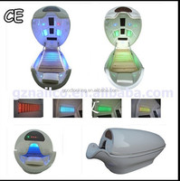 Amazing far infrared ozone sauna spa capsule with LED light therapy