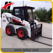 Pallet forks attachment available for most skid steer loader in the market