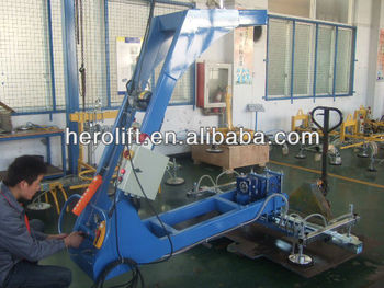 180 degrees titling vacuum lifter for metal sheet