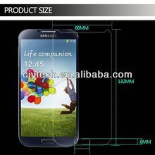 2014 hot sellers cell phone tempered glass screen protector cover for samsung galaxy s i9003