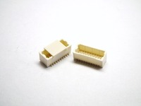 Wafer Pitch 1.0mm 180D SMD Dual Row 10 to 60 Contacts Gold Flash NY6T Wire to board Connector
