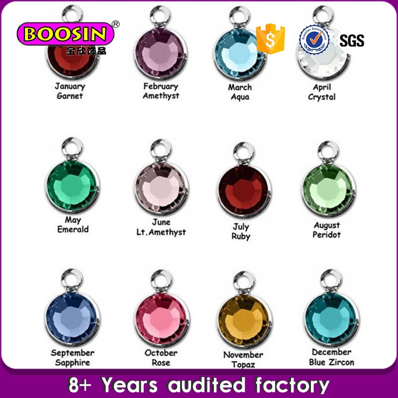 New Products Fashion Jewelry birthstone ring pendant