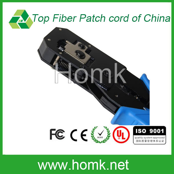 Good price Fiber crystal head crimping plier network Cable RJ45 connector crimping tools fiber optic wire plier