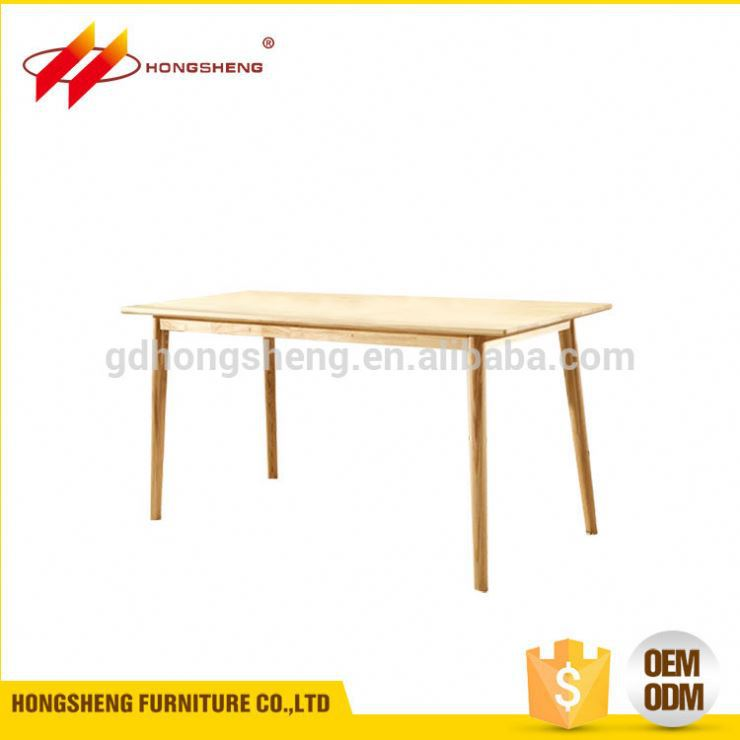 china price solid wooden table maple furniture