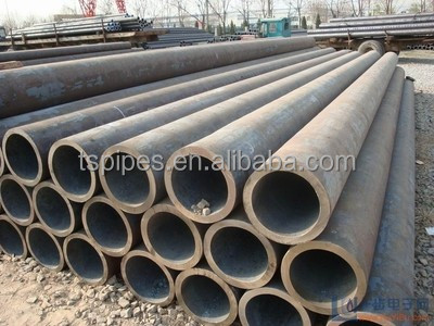 Factory Price STPG370 Seamless Carbon Black Round Mild Steel Pipe For Water Trans