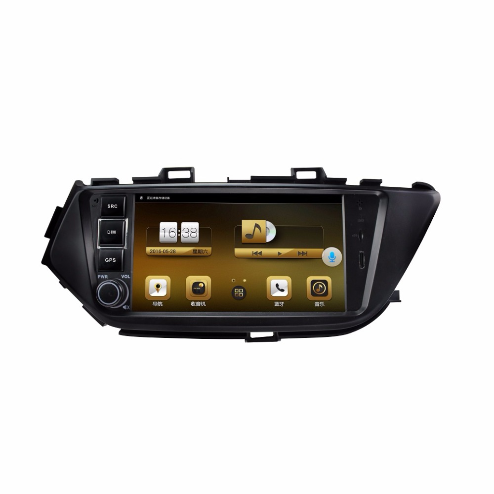 "10.1"" Quad Core Full Touch Screen Android Car Radio Double Din 16GB Bluetooth with CE For Nissan Bluebird 2015"