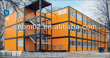 Prefabricated Container House Hotel and Office Building