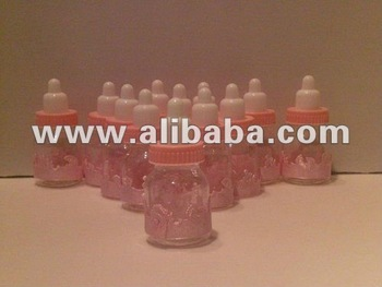 Baby bottle favor
