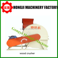Tree branch wood chip crusher/capacity 500kg/h wood crusher machine
