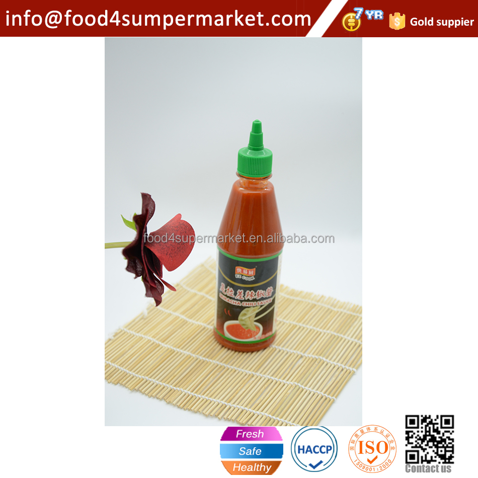 793g HALAL Hot Sriracha Chili Sauce in Squeeze bottle