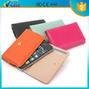 Soft leather luxury mobile phone card holder wallet case for iPhone 5