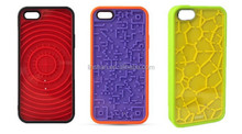 Maze Game Funny Silicon Mobile Phone Case Cover Made in China