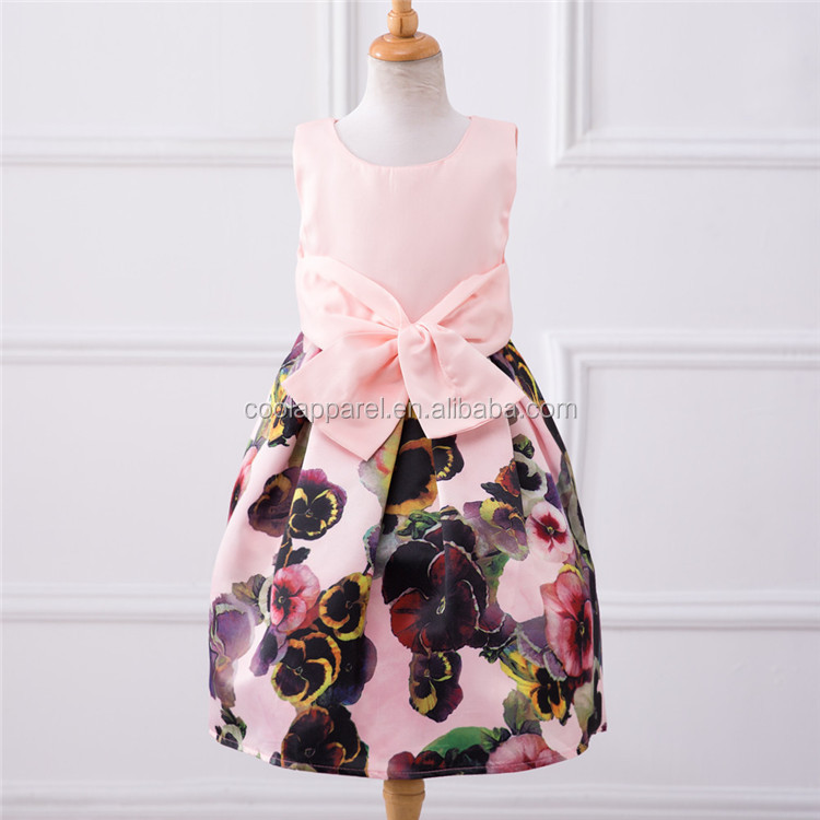 high quality lovely printed normal frock design